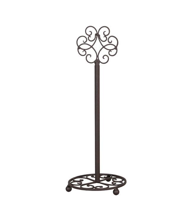 Clayre & Eef Küchenrollenhalter Ornament, Landhausstil