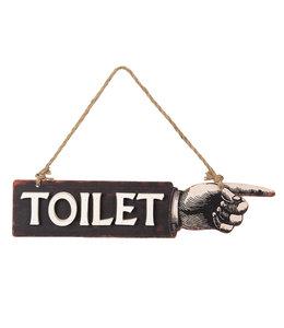 "Dekoschild ""Toilet"""