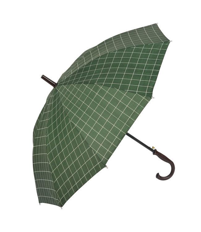 Regenschirm British Green, Karo, Landhausstil