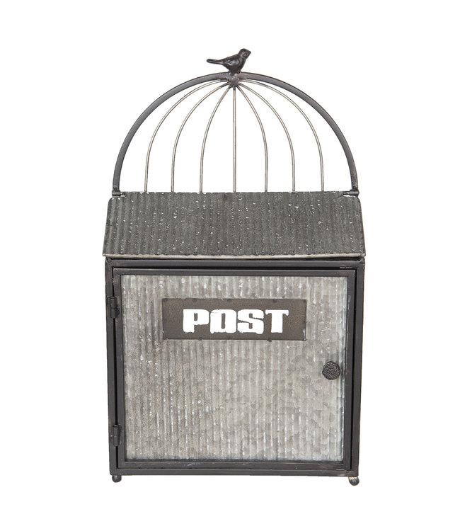 """Deko-Briefkasten """"Altgrau"""" Vintage"""