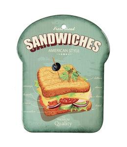"""Schneidebrett """"Sandwiches"""" American Style"""