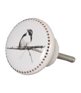"Türknopf ""Vogel"" Keramik"