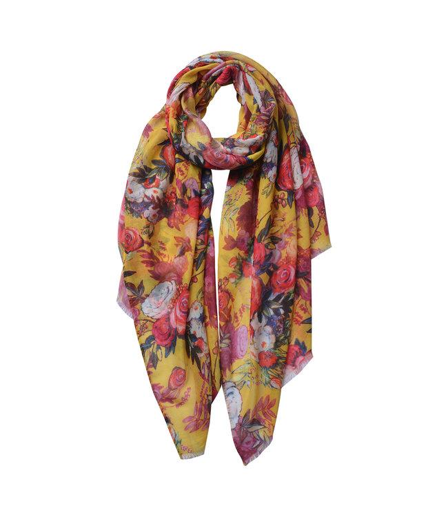 Clayre & Eef Damenschal (Tuch) Floral
