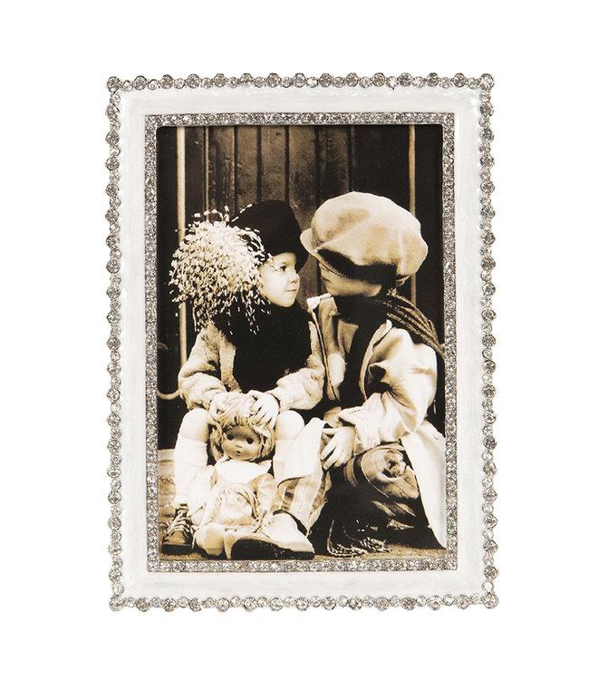 Bilderrahmen, silber (Foto 10x15) Vintage