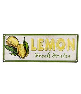 "Dekoschild ""Zitronen"""