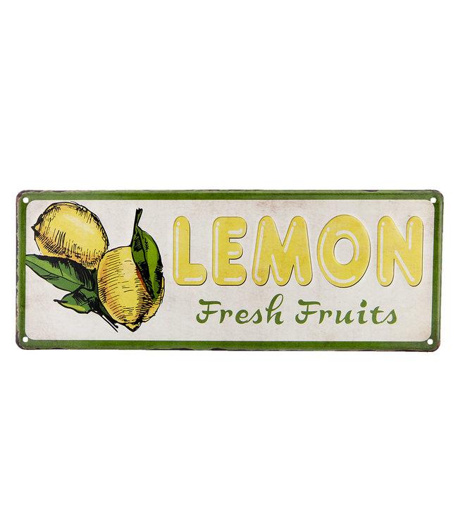 """Dekoschild """"Zitronen"""" Vintage"""
