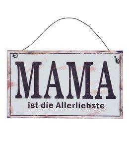 """Dekoschild Vintage """"Mama ist die Allerbeste"""""""