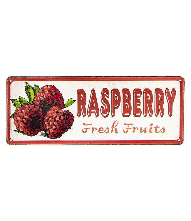 """Dekoschild Vintage """"Erdbeeren"""""""