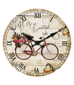 """Clayre & Eef Wanduhr Vintage """"Beautiful Country Life"""""""