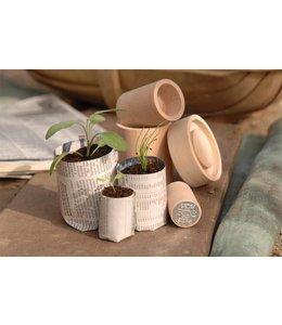 Burgon & Ball Eco Pot Maker: Für das ökologische Zuhause für Ihre Sämlinge