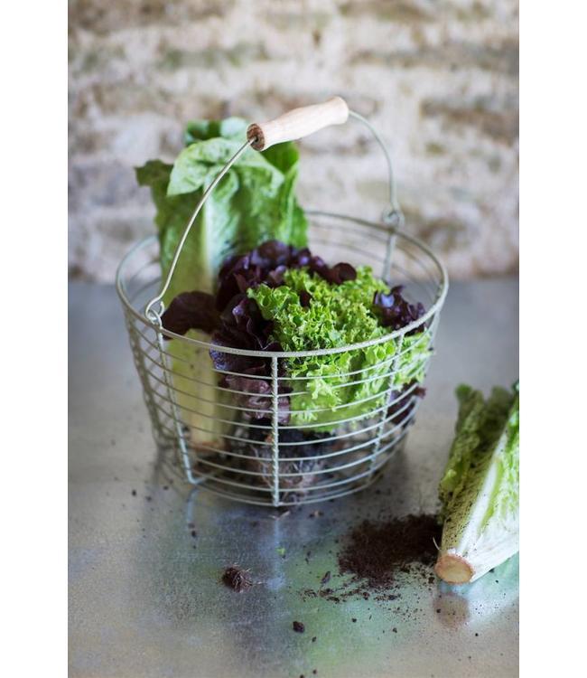 Gartenkorb für Ihre Salaternte