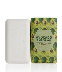 Crabtree & Evelyn Heritage Avocado und Olive Oil gemahlene Seife 158 g