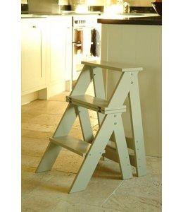 Trittleiter oder Stuhl - Birkenholz