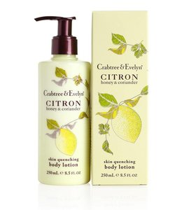 Crabtree & Evelyn Citron, Honey und Coriander Bodylotion 250 ml