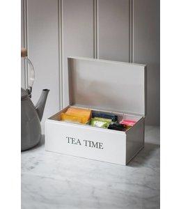 """Teeboxen Vintage Teebox Landhaus """"Tea Time"""""""