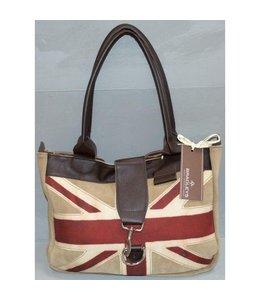 Handtaschen Vintage Bradleys Handtasche mit britischer Flagge