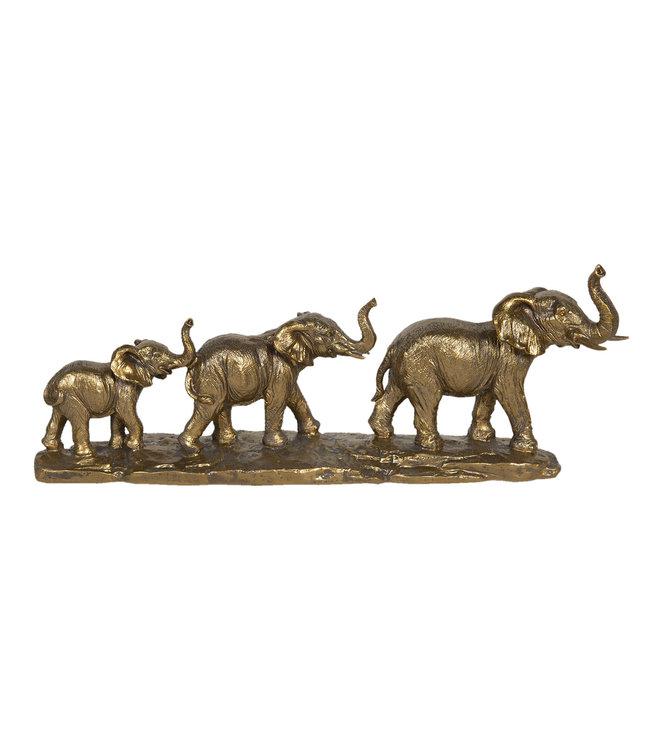 Deko-Elefantenfamilie, Vintage