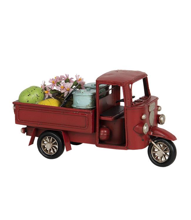 Nostalgisches Modellfahrzeug mit Vintage Deko