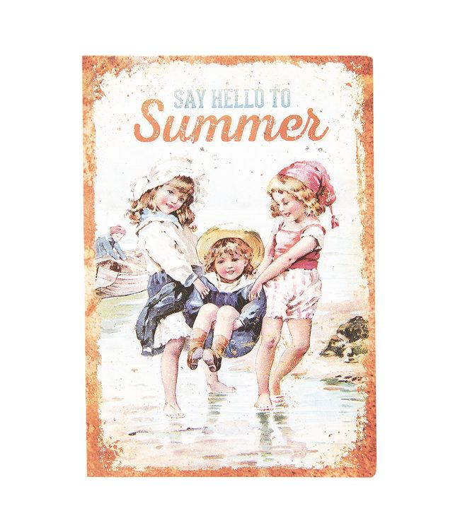 """Notizbuch Vintage """"Summer"""""""