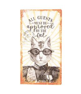 """Notizbuch Vintage """"Katze"""""""
