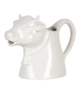 "1 L Milchkanne Vintage ""Kuh"" Keramik"