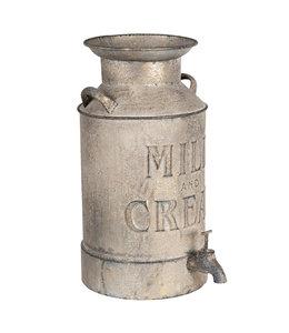 """Milchkanne Vintage """"Milk & Cream"""""""