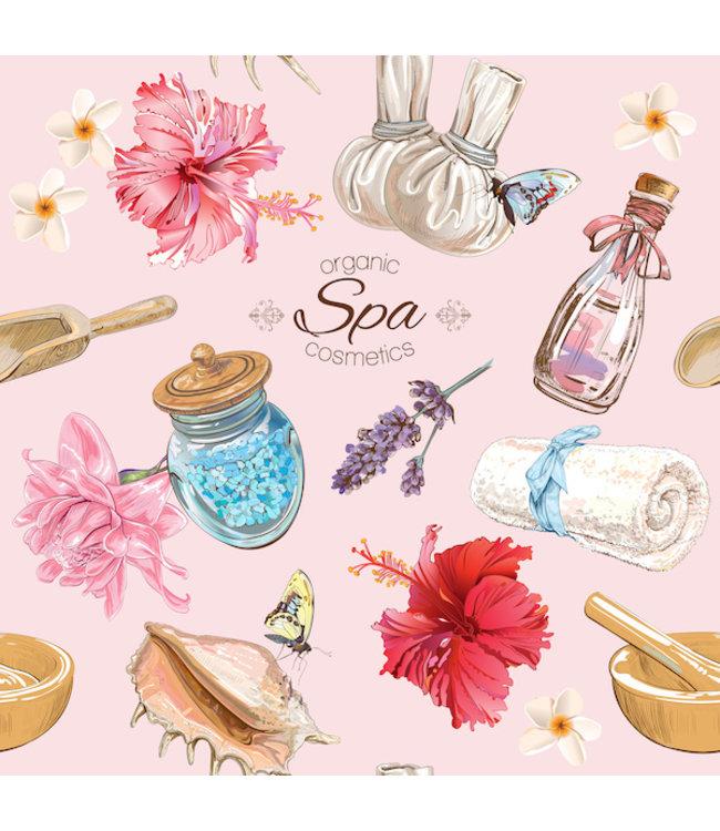 """Badezimmer Schild Vintage """"Spa Cosmetics"""""""