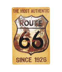 "Deko-Schild ""Route 66 - Since 1926"" Vintage"