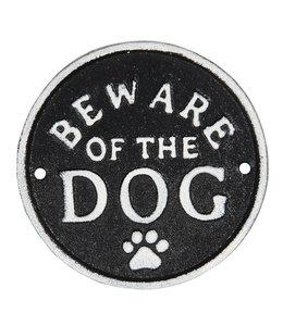"""Schild """"Beware of the Dog"""" Vintage"""