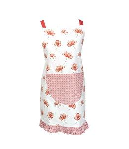 """Kochschürze für Kinder """"Mohnblumen"""" Vintage"""