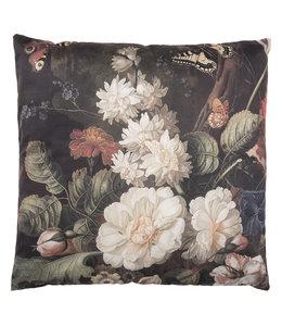 """Kissen mit Füllung """"Blumenzauber"""" 45x45, Vintage"""