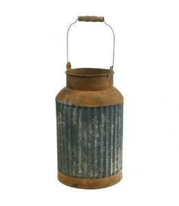 Deko-Milchkanne, Rostig, Vintage Look