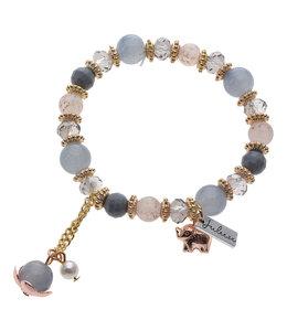 """Armband mit Perlen """"Sophia"""" Vintage"""