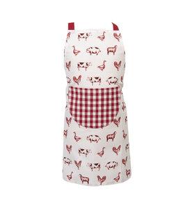 """Kochschürze für Kinder """"Tiere vom Bauernhof"""" 48*56"""