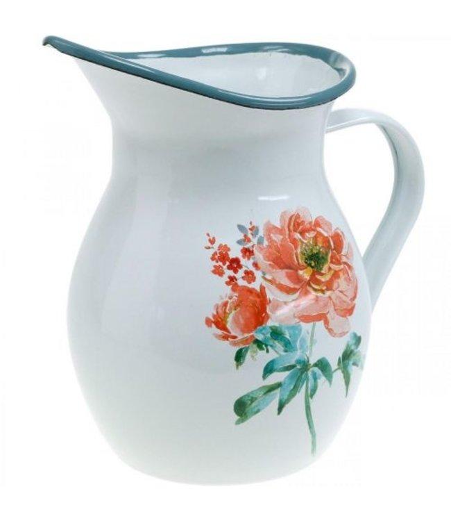 """Deko-Bauernkrug """"Floral"""" Vintage"""