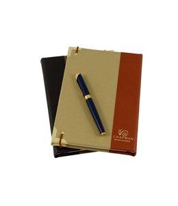 Notizbuch Leder von Chapman, England