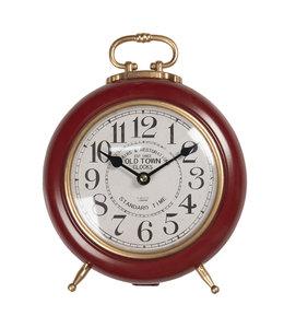 """Tischuhr """"Old Town Clocks"""" Altrot, Vintage"""