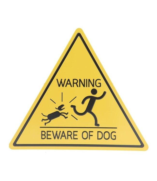 """Deko-Schild """"Beware of Dog - Vorsicht Hund"""" Vintage"""