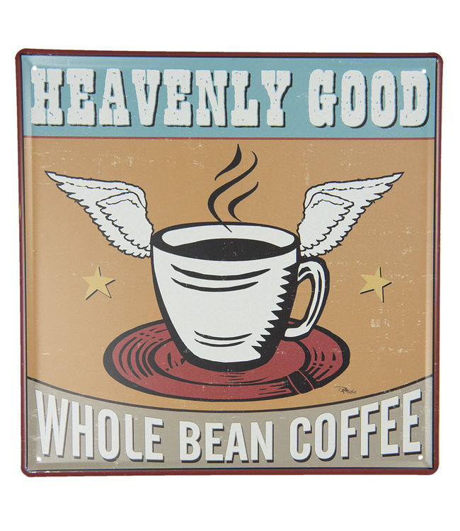 """Deko-Schild """"Coffee"""" Vintage"""