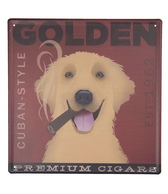 "Deko-Schild ""Premium Cigars"" Vintage"