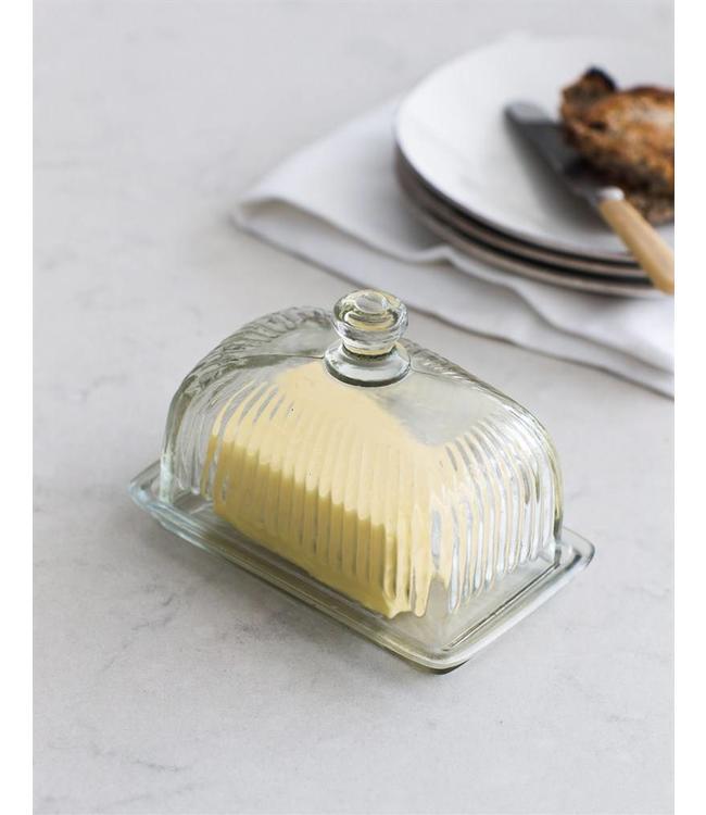 Butterdose Glas für Fassbutter