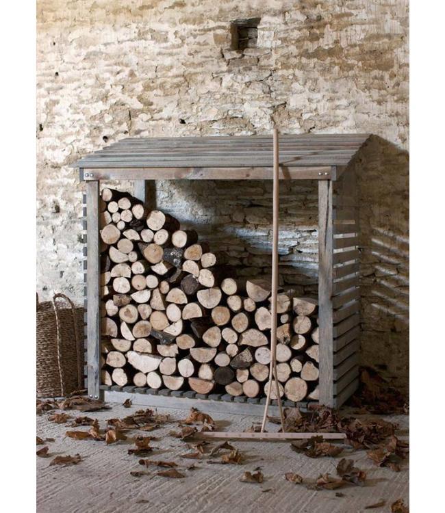 Kaminholzunterstand Fichtenholz
