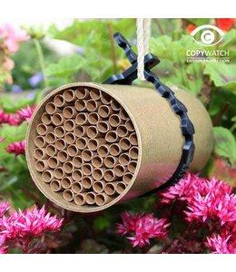 Nistbehausung für Wildbienen