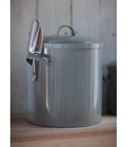 Futterbehälter Metall