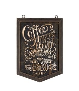 "Wandbild ""Kaffee"" 37x59 Vintage"