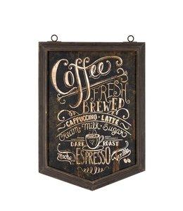 "Wandbild Vintage ""Kaffee"" 37x59"