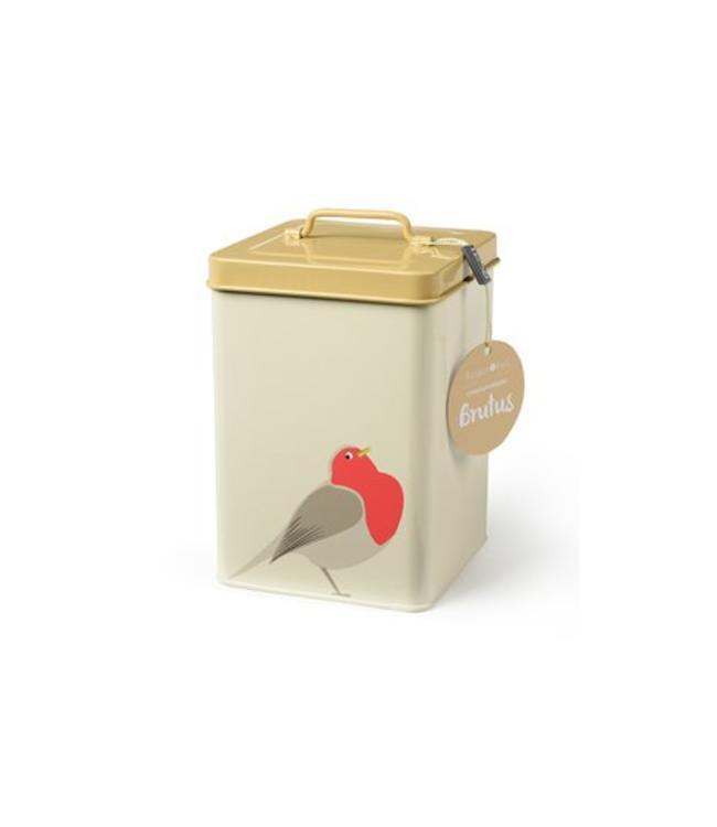 Burgon & Ball Vogelfutter-Box Rotkehlchen