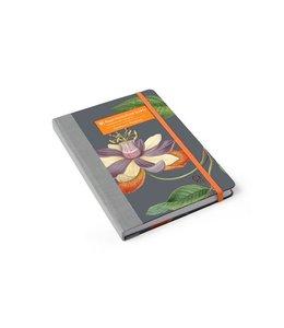 Notizbücher Vintage Garten-Notizbuch Passiflora