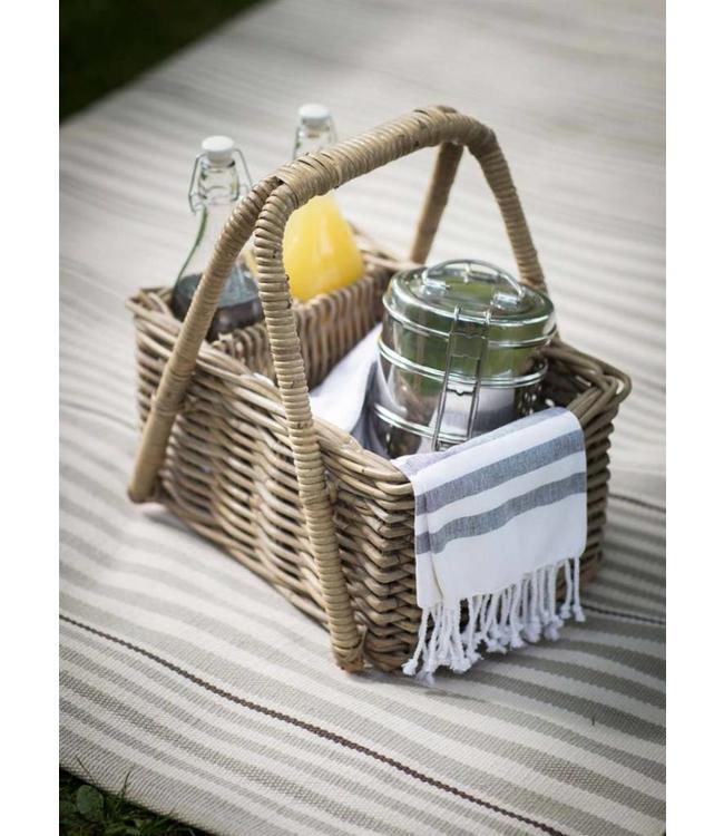 Picknickkorb Rattan