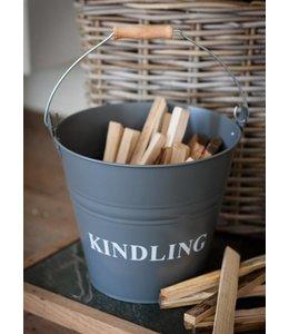 """Anfeuerholz-Eimer Landhaus """"Kindling"""""""